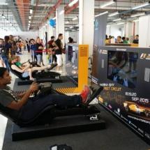racing simulators, f1 simulator, racing car seat, rental singapore