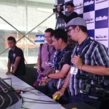 Gillette, F1 event, Mika Hakkinen, Vivo City, slot cars, the face race