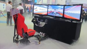 racing motion simulators, racing simulators, race seats, arcade racing seats