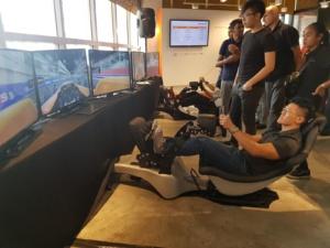Racing Simulator at Millenia Walk Plentyful